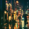 Rainy Morning Walk